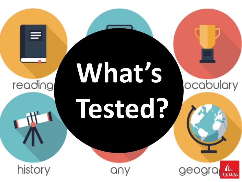 Whats tested on the SSAT