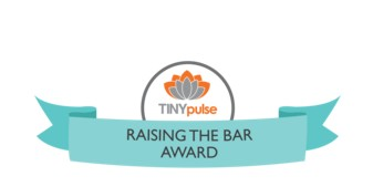 Tiny Pulse Raising the Bar Award
