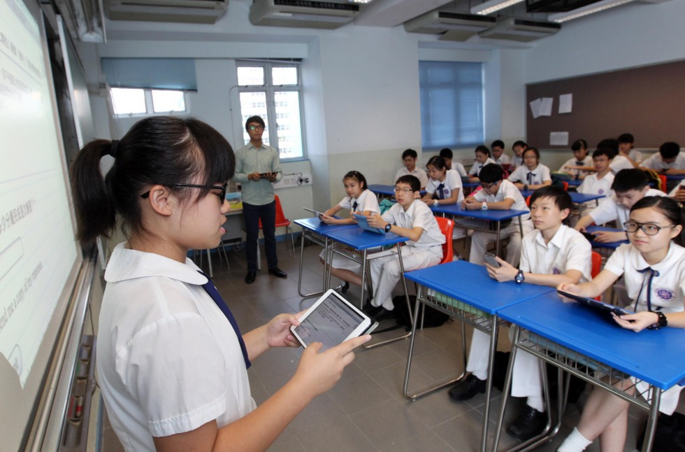 middle school hong kong students