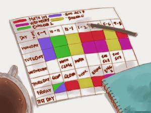 study-schedule