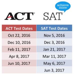 sat-act-test-dates
