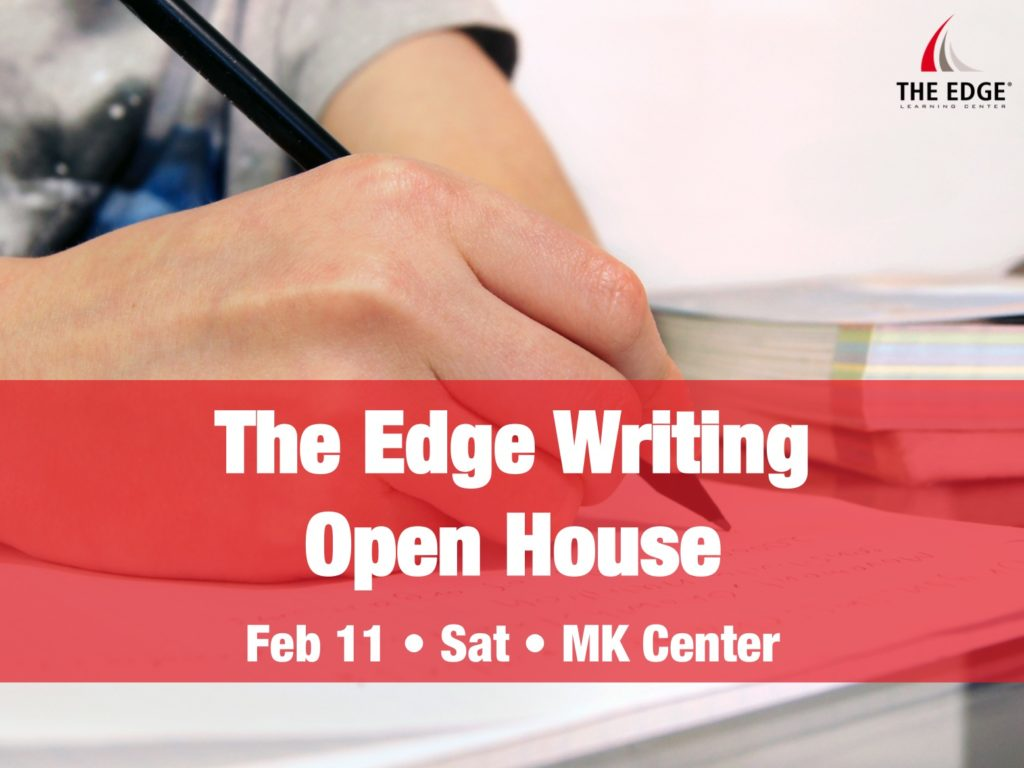 The Edge Writing Open House