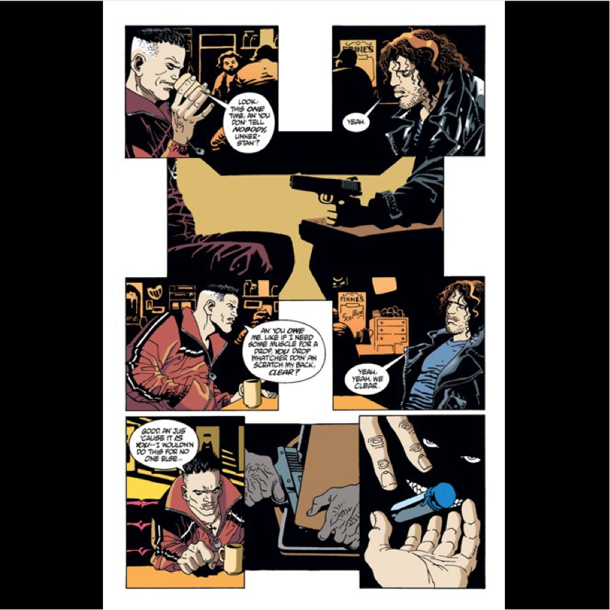 100 Bullets - IB English Graphic Novel or Comic Strip