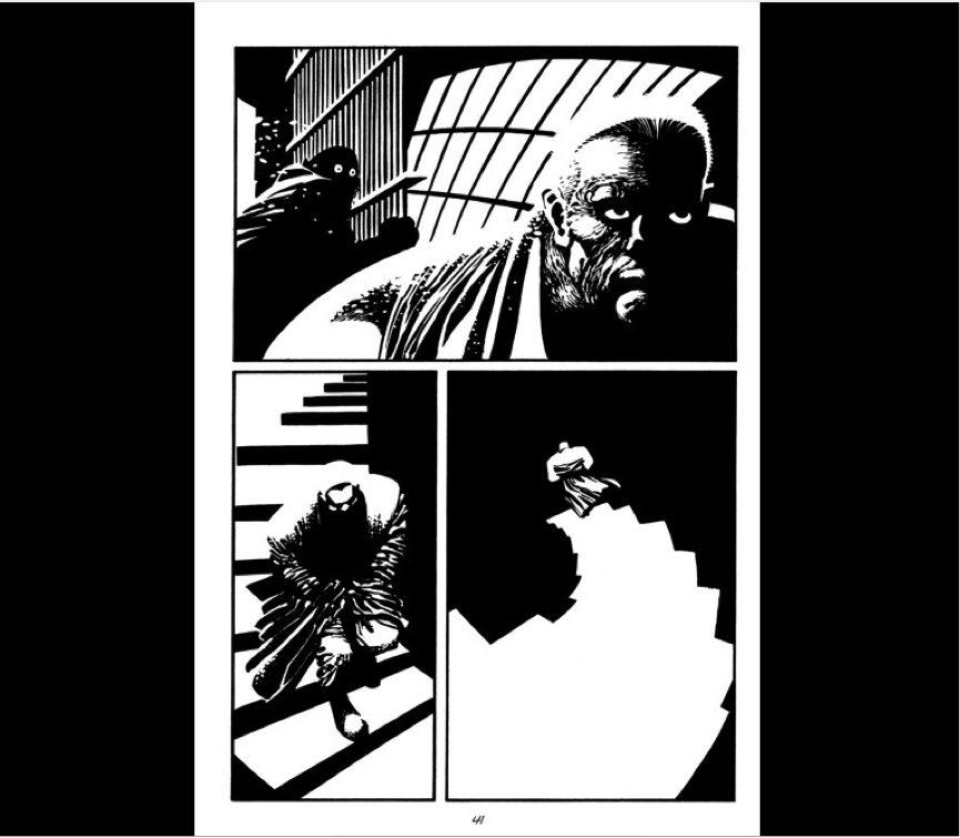 Frank Miller's Sin City short story Silent Night - IB English Graphic Novel or Comic Strip