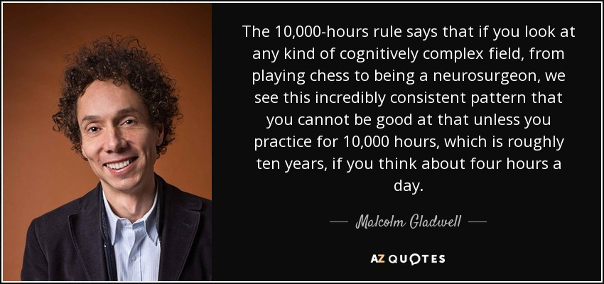 Malcolm Gladwell quote