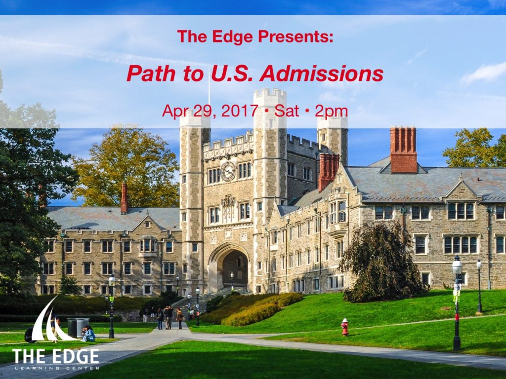 Path to US Admissions