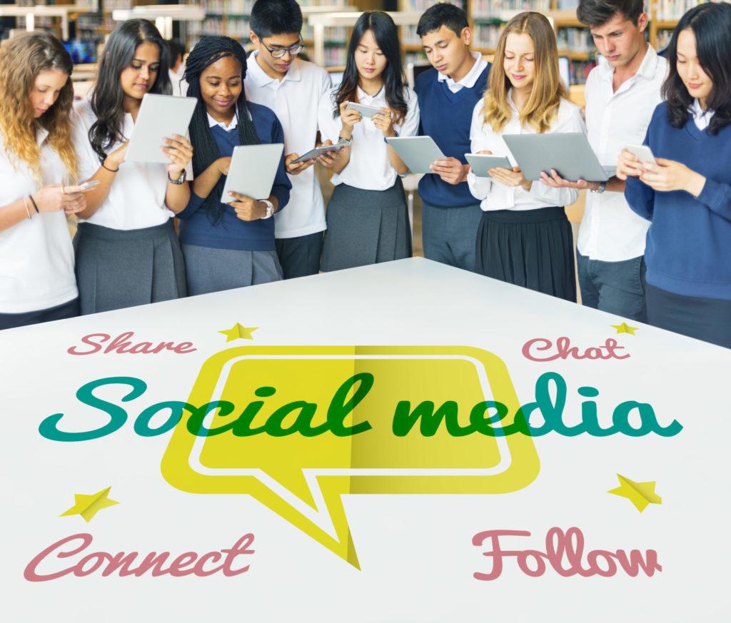 Communication Connection Social Media Concept