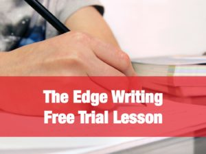 Edge Writing Free Trial Lesson to June 30