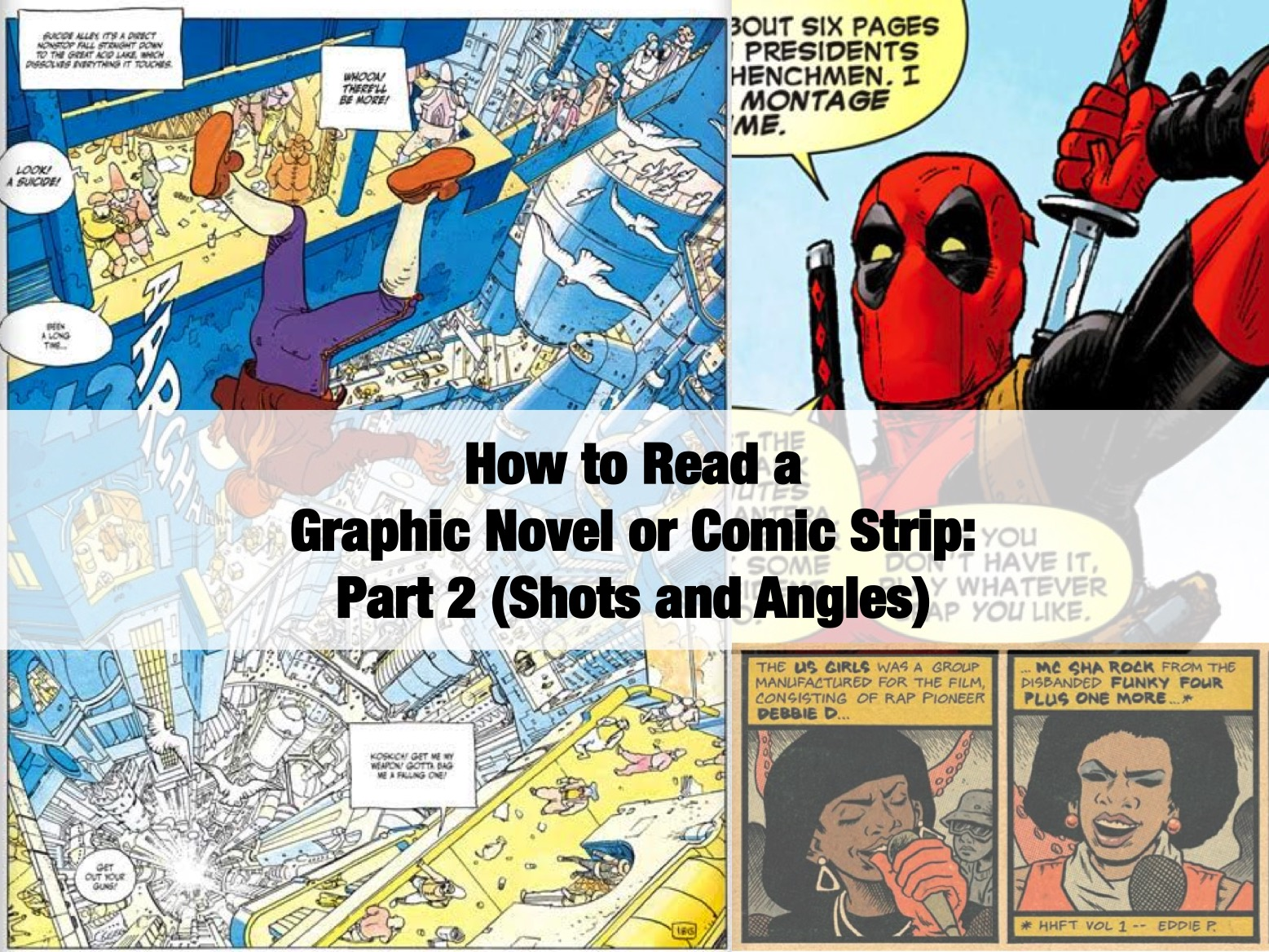 how to read a graphic novel pdf