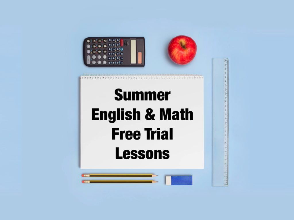 Summer English & Math Free Trial Lessons