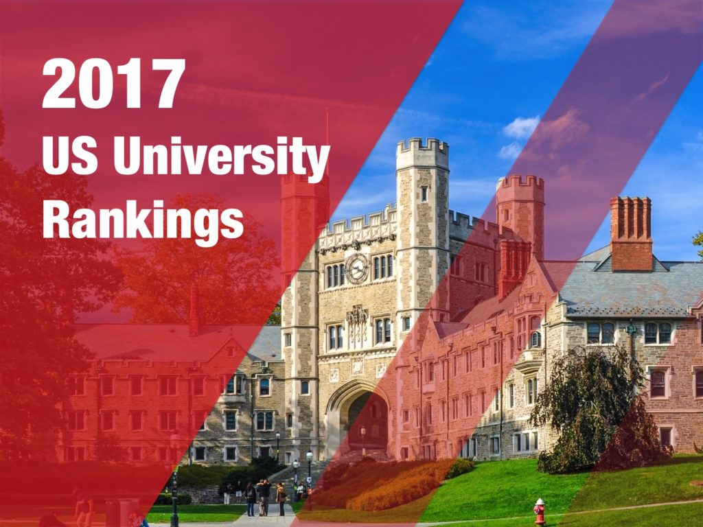 2017 US University Rankings