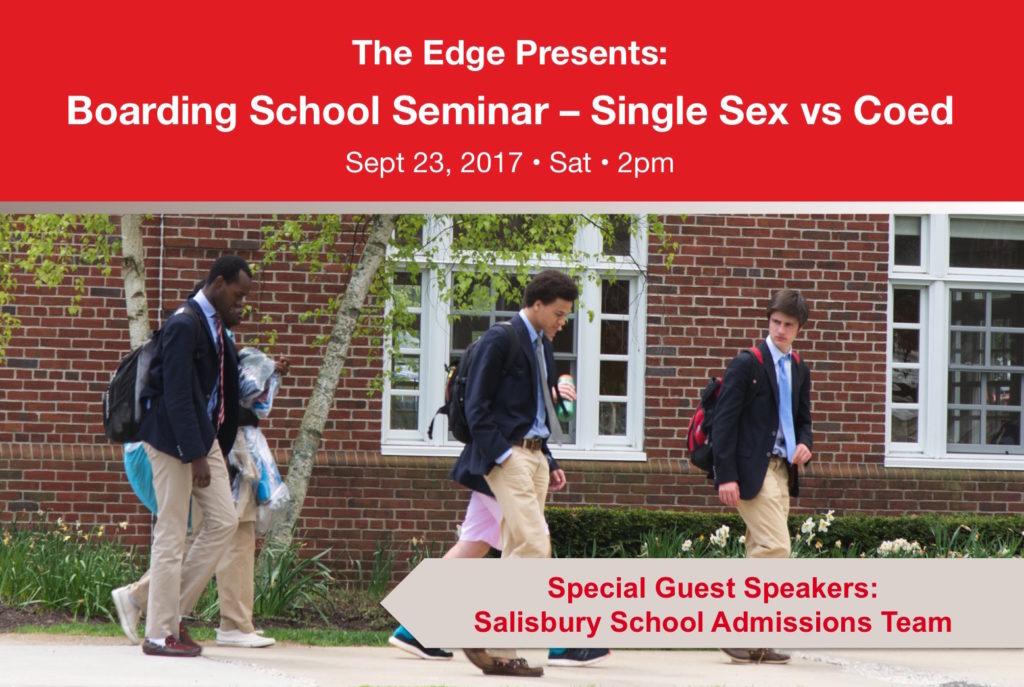 Boarding School Seminar