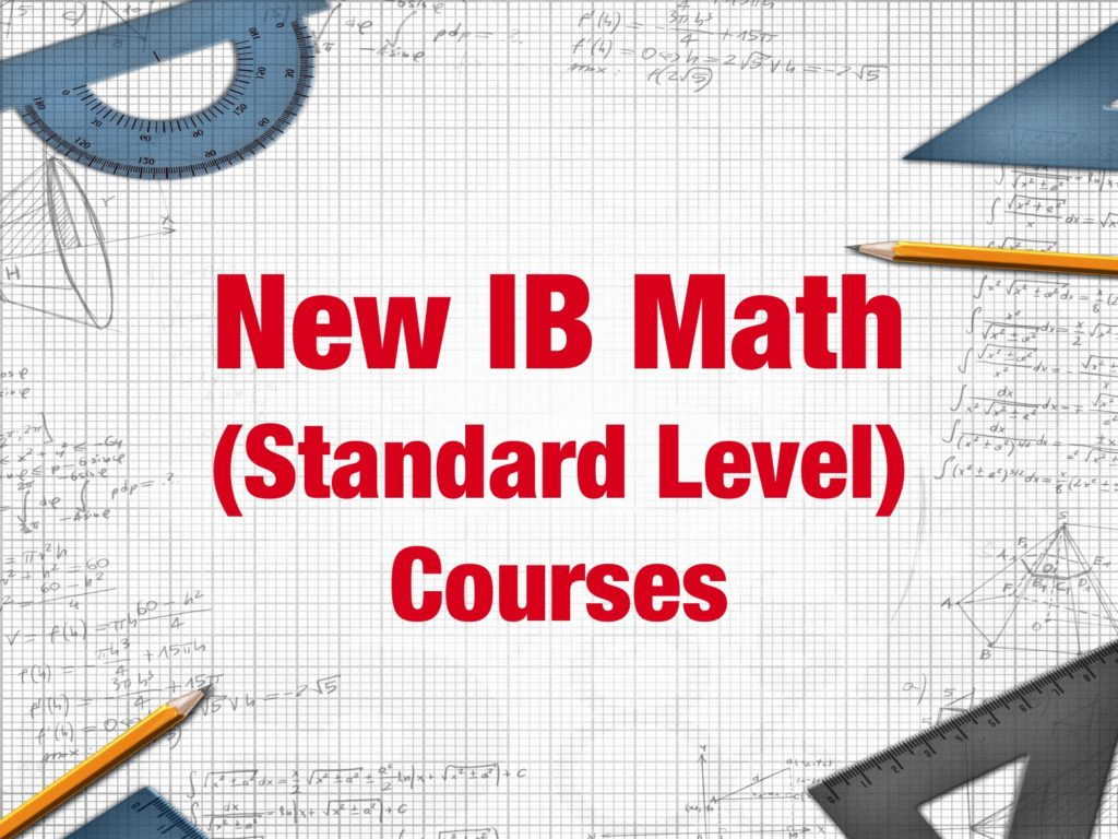 New IB Math SL Course