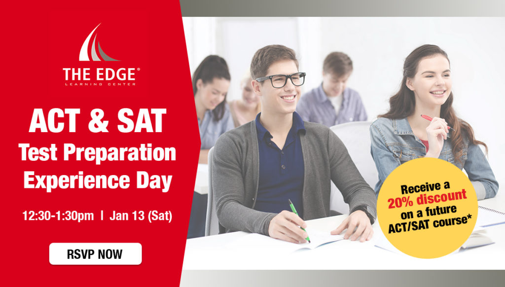 ACT SAT TP Experience Day 20180113