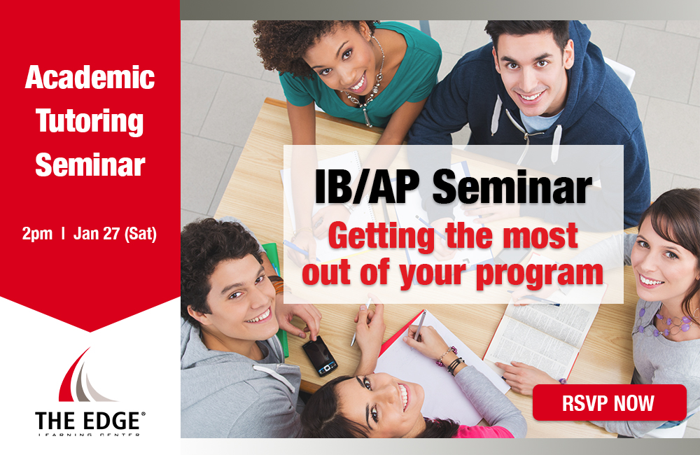 IB/AP Seminar - Getting the most out of your program