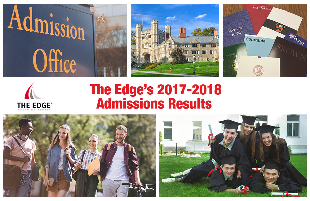 The Edge's 2017-2018 Admissions Results