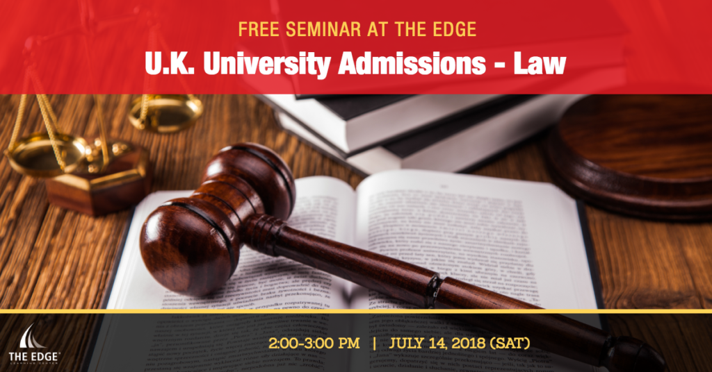 U.K. University Admissions - Law