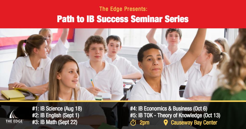 Path to IB Success Seminar Series