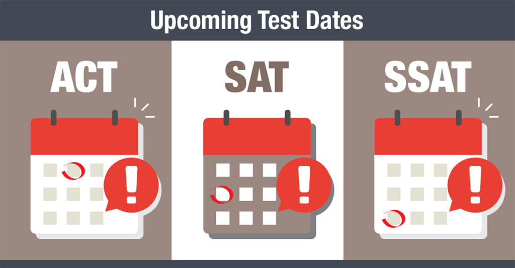 The-Edge-ACT-SAT-SSAT-upcoming-test-dates