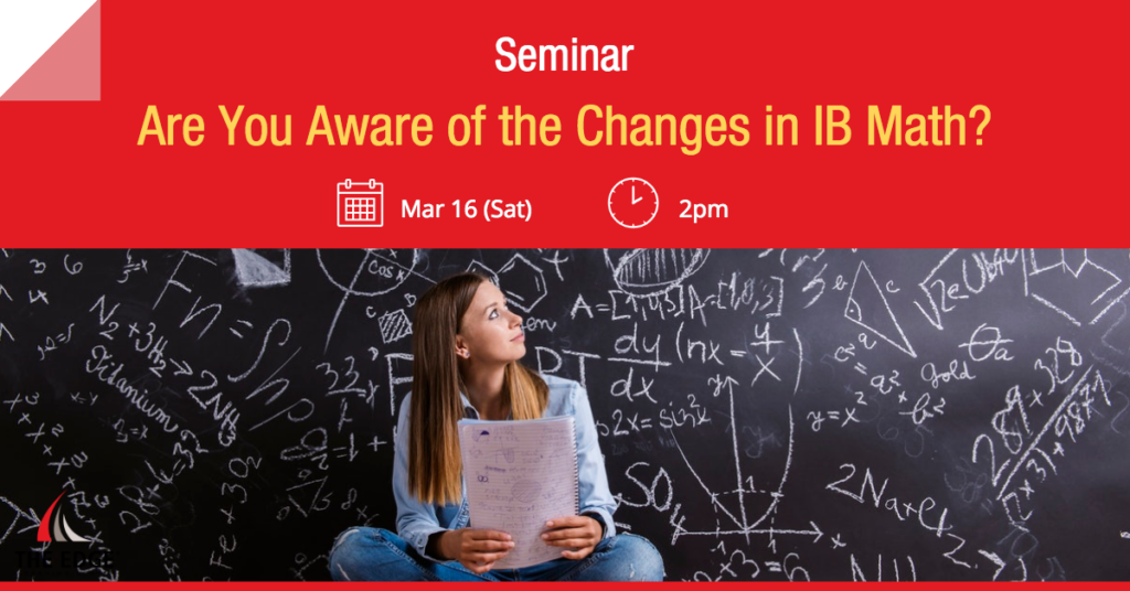 Are You Aware of the Changes in IB Math?