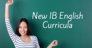 New IB English Curricula