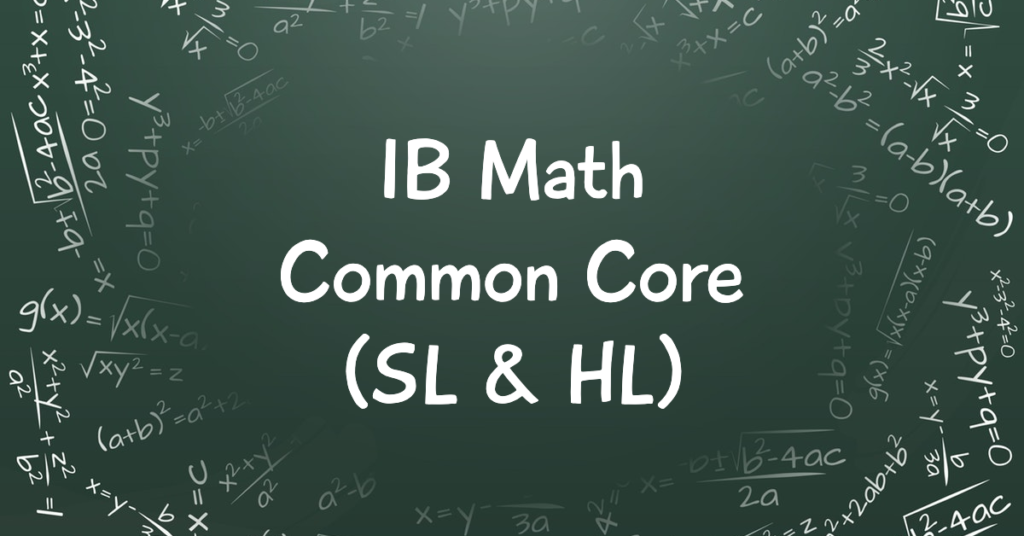 The Edge IB Math Common Core