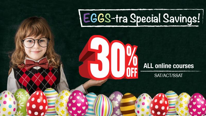 ACT SAT SSAT Online Course 30% Discount