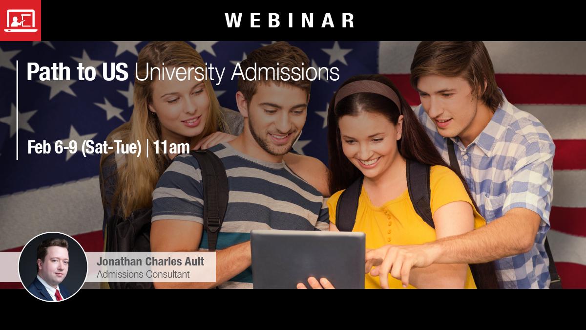 Webinar: Path to US University Admissions