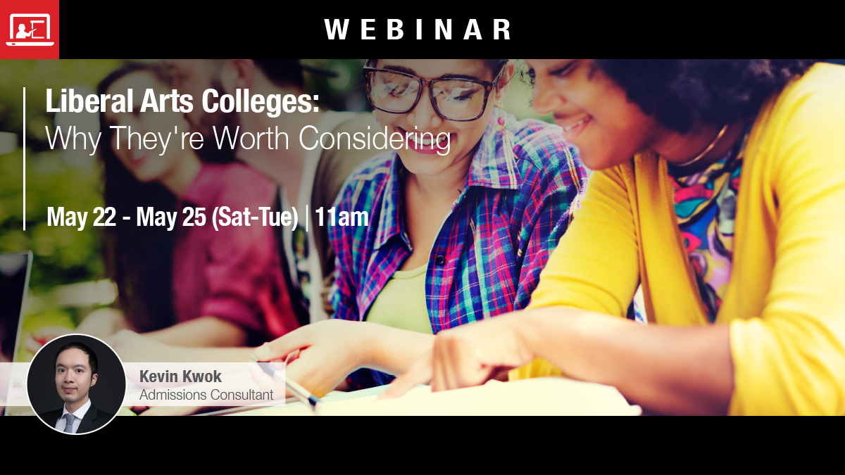 Webinar: Liberal Arts Colleges: Why They're Worth Considering